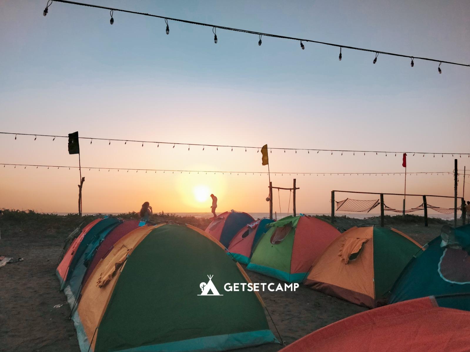 Paradise Beach Camping Near Alibaug